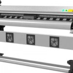 Hot selling 2.5m WER-2502I dx7 print head eco solvent printer for sale