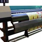 2016 new design 1.8m WER indoor and outdoor printing machine for feather flag for sale