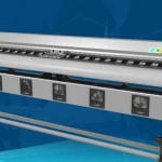 2.5m eco solvent printer with 2pcs dx5 print head for sale