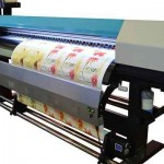 Cheap bus sticker 1.8m WER ES1801, inkjet plotter eco solvent printer indoor and out door printing machine for sale