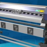 Cheap 2.5m WER-ES2502 eco solvent printer with DX5 print head teardrop banner printer for sale