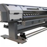 2016 new design 1.8m WER indoor and outdoor printing machine for roll up banner for sale