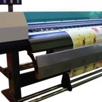 2016 new design 1.8m WER indoor and outdoor printing machine for outdoor medias for sale