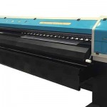 Top selling WER ES160, 1.6m Inkjet Eco Solvent Printer with DX5 Head for sale