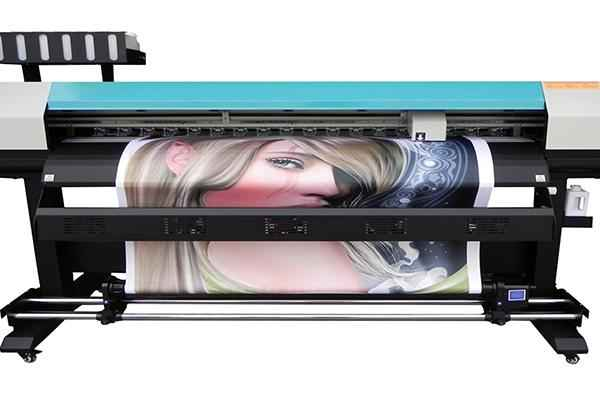 New design 1.8m outdoor WER ES1802 eco solvent printer with dx5 head, outdoor advertising for sale