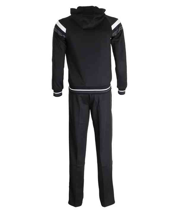 Custom Cotton Polyester Mens Sportswear Slim Fit Plain Training Tracksuit852
