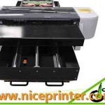 Best selling a3 329mm-600mm WER E2000UV small size A3 UV LED flatbed printer  in Adelaide