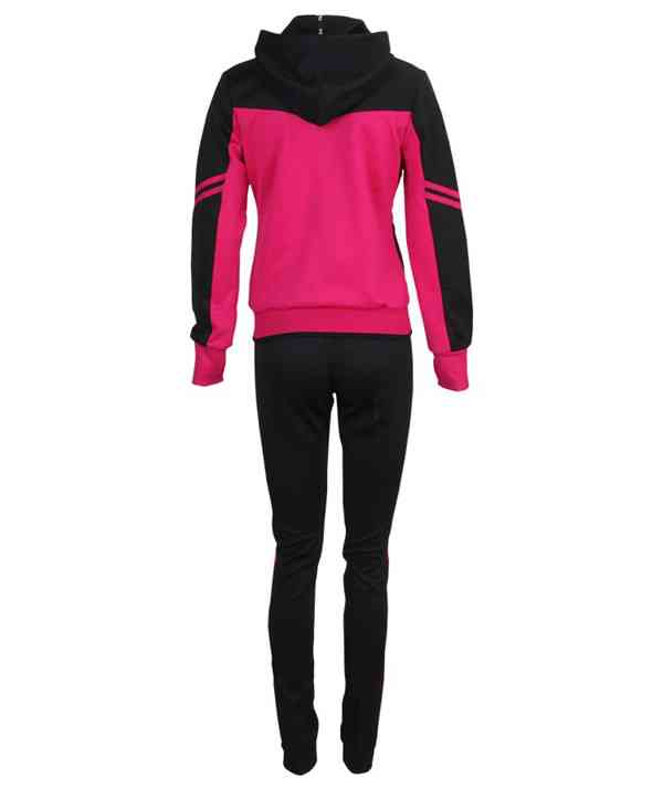 High Quality China Wholesale Running Zipped Hoody Long Sleeve Women Sport Suit745