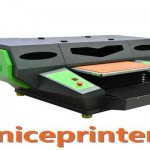 a2 size desktop type dual heads uv flatbed printer  in Adelaide