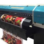 Indoor and outdoor large format eco solvent printer for sale