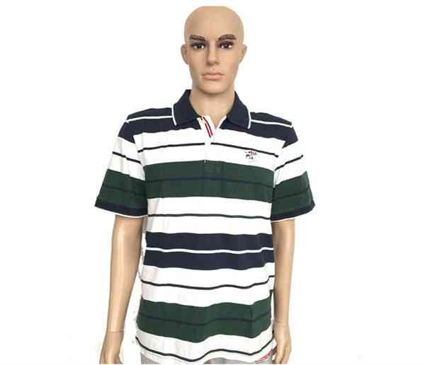 Summer Colorful Stripe Polo Shirts for Men585