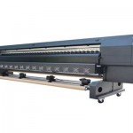Best selling 3.2m indoor outdoor WER ES3201 eco solvent printing machine, vehicle wrap printer for sale