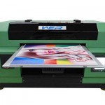 CE certficated a2 size dual heads uv inkjet printer for any hard material printing machine  in Adelaide