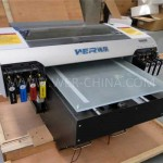 Best quality a3 WER E2000UV CD Printing machine a3 size uv flatbed printer for phone case printing machine  in Canberra