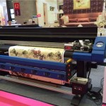 2016 new design 1.8m WER indoor and outdoor printing machine for art canvas for sale