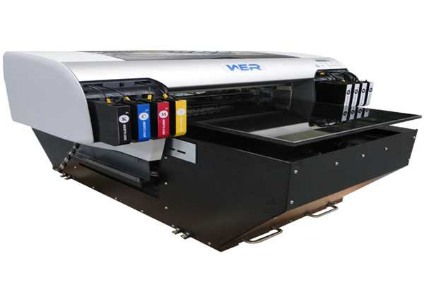 Perfect design A2 420mm-1200mm WER-EH4880UV,a2 small uv flatbed printer machine  in Adelaide