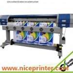 Cheap 2.5m WER-ES2502 eco solvent printer with DX5 print head printer machine for beach banner for sale