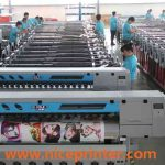 Best selling 1.8 m WER ES1801 1440 dpi single DX5 print, head high quality eco solvent printer for sale
