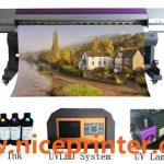 3.2m large format Inkjet Eco Solvent Printer for Canvas Printing for sale