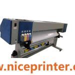 Hot selling DX5 printheads outdoor indoor printing WER ES2501, 8ft large format eco printer for sale