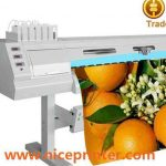 Best selling 2.5 m WER-ES2502 two DX5 print head ,eco solvent digital printer for sale