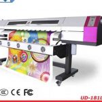 Cheap 2.5m WER-ES2502 eco solvent printer with DX5 print head printer machine for canvas for sale