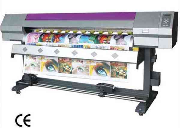 Large format eco solvent printer with rioch printhead 1.8m for sale