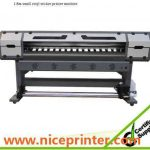 Popular 1.8m * 2 PCS DX7 1440DPI WER-ES1802I, high speed printing indoor outdoor printer for sale