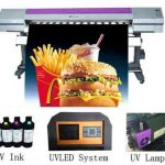 Hot selling 1.8m WER-ES1802I with dual DX7 print head ,solvent eco printer for sale