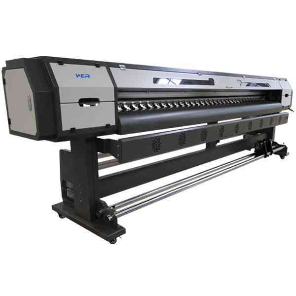 Hot selling 3.2m 10-15% faster DX7 than DX5 heads WER-ES3201I, machine printing eco solvent for sale