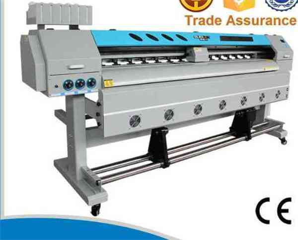 China 1.52m Indoor and Outdoor with Dx5 Head 1440dpi Hot Selling Digital Flex Banner Printing Machine  for sale