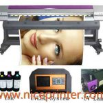 3.2m Inkjet Printer Type and Automatic Grade flex banner solvent inkjet printing machine for sale