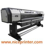 Hot selling 3.2mWER-ES3202, sticker printing machine, print head dx5 solvent for sale