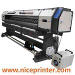 Hot selling 1.8m * 2 PCS DX7 1440DPI high resolution WER ES1802I, dx7 print head eco solvent printer for sale