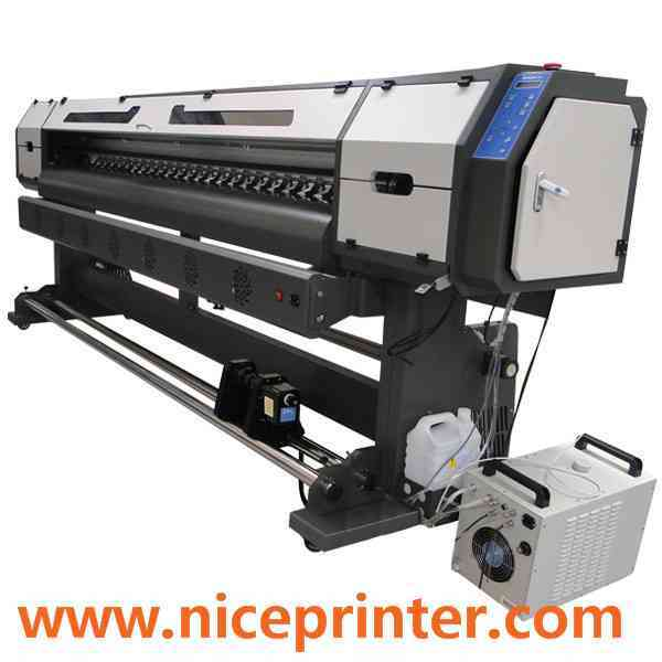 China 3.2m 1440dpi Inkjet Printer, New Flex Printing Machine with High Speed  for sale