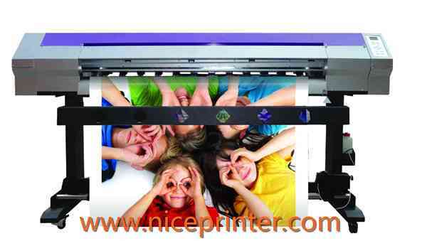 China Ce Approved 5feet Self Adhesive Vinyl Dx7 Head Eco Solvent Printer  for sale