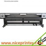 New design 3.2m 2PCS DX5 heads 1440dpi WER-ES3202, pvc sticker printer for sale