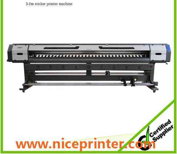 Hot selling 3.2m WER ES3201 with DX5 head 1440dpi, eco solvent inkjet printer for sale