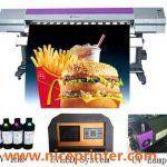 China Multicolor Eco Solvent Printer with Dx 5 Printhead  for sale