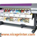 Popular 2.5m WER ES2502I Flex printing machine, eco solvent printing machine for sale