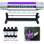 Hot selling 3.2m WER ES3202 eco solvent printer 4 color 1440dpi, dx5 head printer for sale