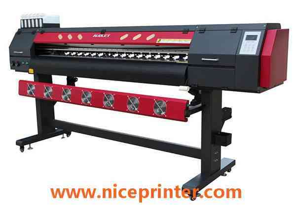 China 3.2m Two Epson Head Vinyl and Banner Printing Material Eco Solvent Printer  for sale