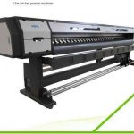 Cheap 2.5m WER-ES2502 eco solvent printer with DX5 print head printing machine for roll up banner for sale