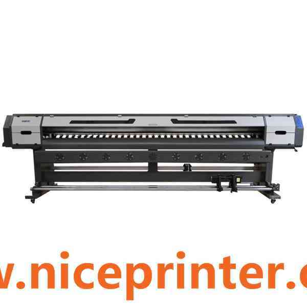 Popular 1.8m wide sticker eco solvent printer with fast speed for sale