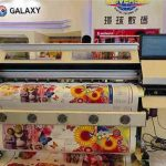 Automatic Grade and Flex banner/ PVC frontlit backlit/ Vinyl sticker ect,Paper Printer Usage DX5 eco solvent printer for sale