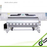 Popular 1.8 m WER ES1801 sticker printing, 1.8m eco solvent plotter for sale
