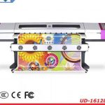 Cheap 1.8m*1pc DX5 printheads 1440dpi WER-ES1801, vinyl sticker eco solvent plotter for sale