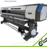 Cheap 3.2m with 2pcs DX5 heads 1440dpi WER-ES3202FB, flated printer for sale
