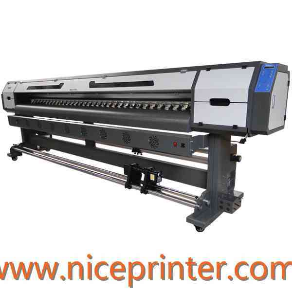 Hot selling 2.5m WER ES2502 digital eco solvent plotter for car sticker and flex banner printing machine for sale