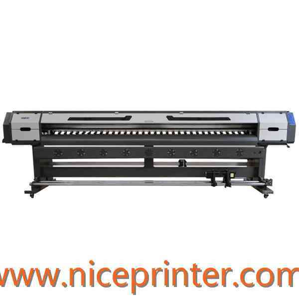 WER-ES2502FB with 2pc DX5 heads,eco-solvent flatbed printer for sale